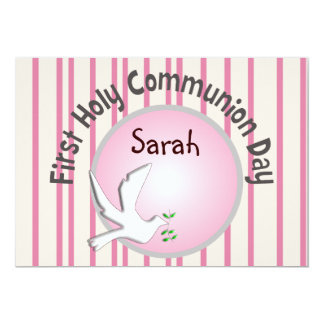 First Holy Communion Invitations (Girl)