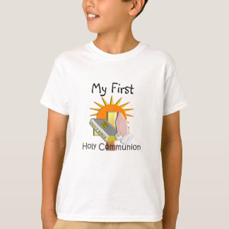 First Holy Communion Kids Gifts T-Shirt