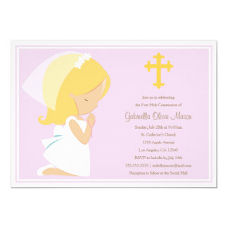 First Holy Communion - Lavender | Invitation