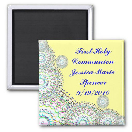 First Holy Communion Magnet
