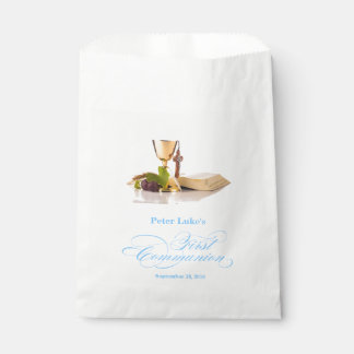 First Holy Communion Party Favor Bag Candy Bags