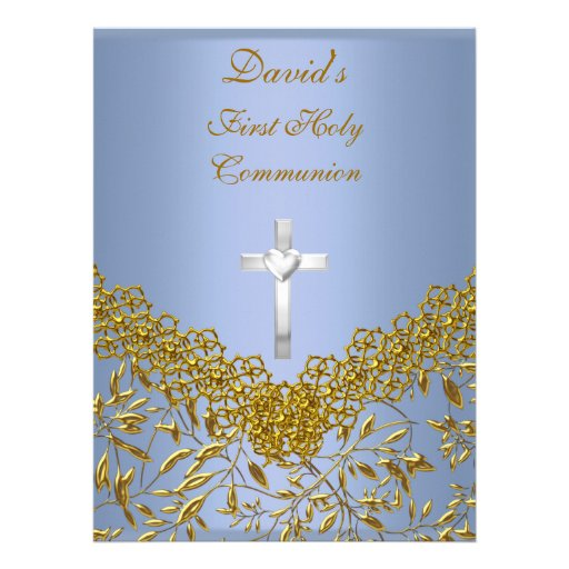First Communion Party Invitations can inspire you to create best invitation template
