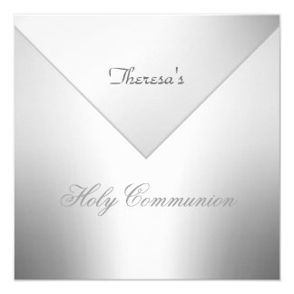First Holy Communion Party Invitation