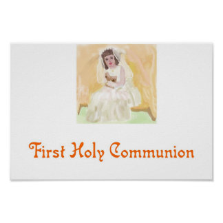 First Holy Communion Poster