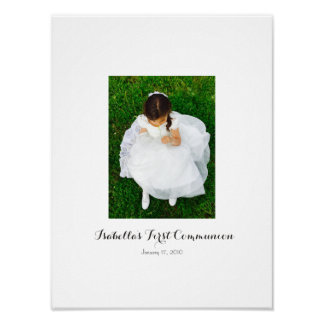 First Holy Communion Sign In Party Board