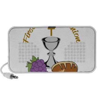 FIRST HOLY COMMUNION NOTEBOOK SPEAKERS