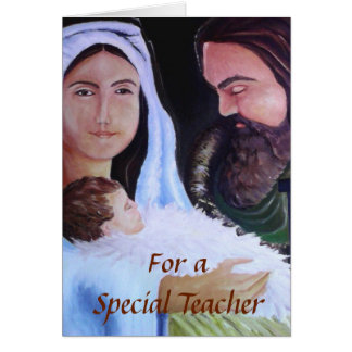 First Holy Family, Portrait of Card