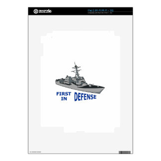 First In Defense Decals For The iPad 2