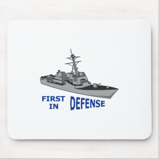 First In Defense Mouse Pad