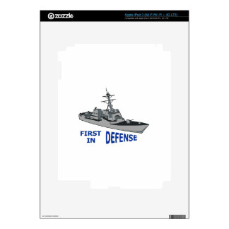 First In Defense Skins For iPad 3