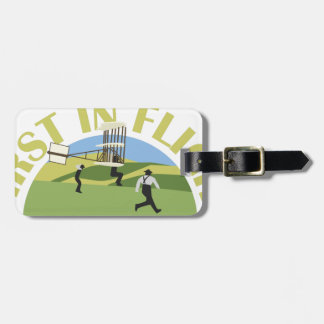 First in Flight Luggage Tag