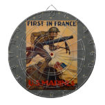 First In France Dartboard