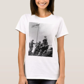 First Iwo Jima Flag Raising on February 23rd 1945 T-Shirt