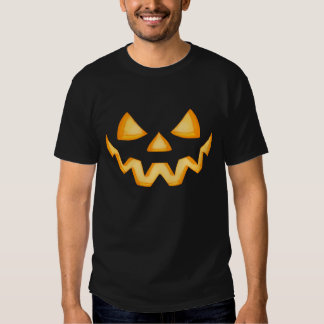First Jack O Lantern In The Dark With An Evil Grin Shirt