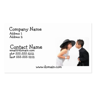First Kiss Busines Card Business Card Template