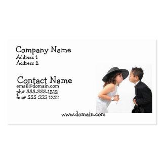 First Kiss Busines Card Business Card Template