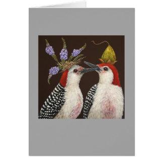 First Kiss card