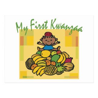 First Kwanzaa Postcard