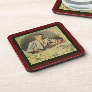 First Lady Anna Eleanor Roosevelt Beverage Coaster