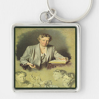 First Lady Anna Eleanor Roosevelt Keychain