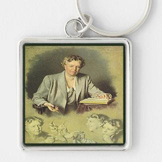 First Lady Anna Eleanor Roosevelt Keychain