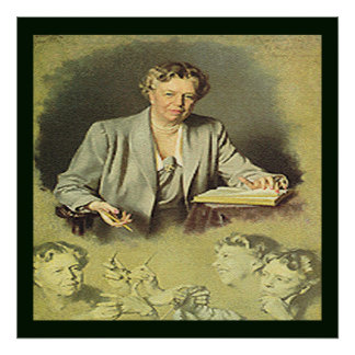 First Lady Anna Eleanor Roosevelt Posters