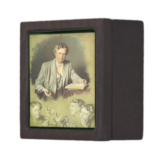 First Lady Anna Eleanor Roosevelt Premium Jewelry Boxes