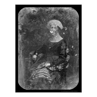 First Lady Dolley Madison Daguerreotype 1848 Poster