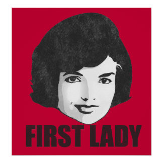 First Lady Jackie Kennedy Poster