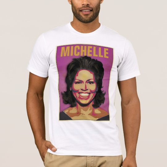 First Lady Michelle Obama - Customizable T-Shirt