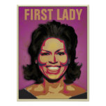 First Lady Michelle Obama - Customized Posters
