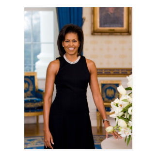 FIRST LADY MICHELLE OBAMA POSTCARD