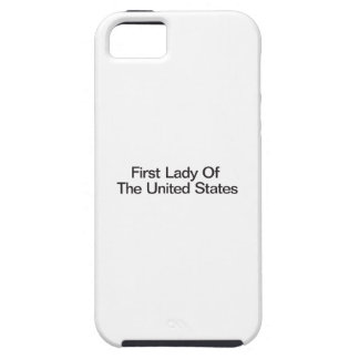 First Lady Of The United States iPhone 5 Covers