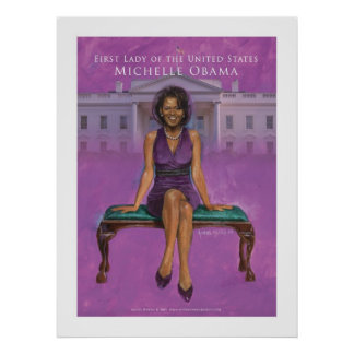 First Lady of the US.-Michelle Obama 23 x 30.67 Poster