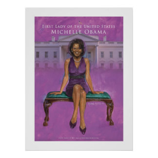 First Lady of the US.-Michelle Obama 52 x 69.33 Poster