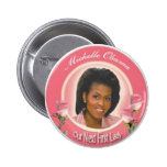 First Lady Pinback Buttons