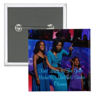 First Lady The Girls Pin