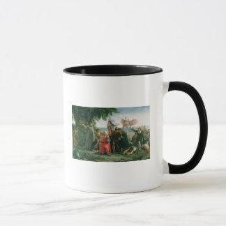 First Landing of Christopher Columbus in Mug