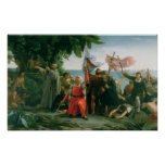 First Landing of Christopher Columbus in Posters
