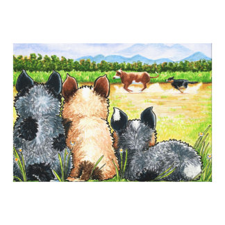 First Lesson by Andie Canvas Prints