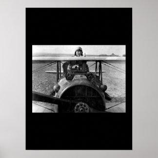 First Lieut.  E. V. (Eddie) Rickenbacker_War image Poster