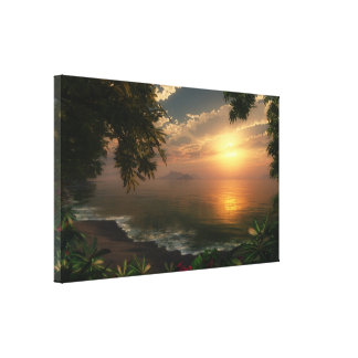 First Light Gallery Wrap Canvas