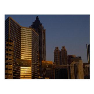 First light of day, Atlanta, Georgia, U.S.A. Post Card