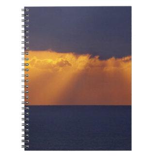 First Light over Tasman Sea, Australia Notebook
