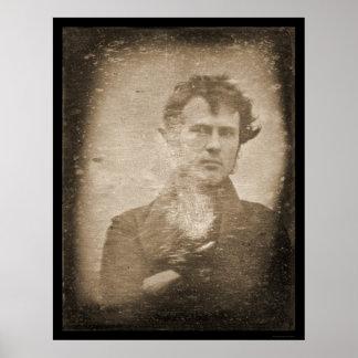First Light Photo Daguerreotype 1839 Poster