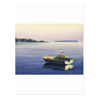 First Light - Plimmerton,& Mana island Postcard