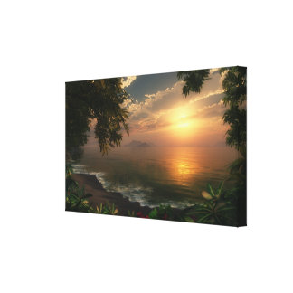 First Light Wrapped Canvas Gallery Wrapped Canvas