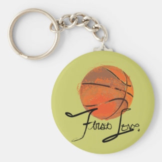 First Love: Basketball Keychain