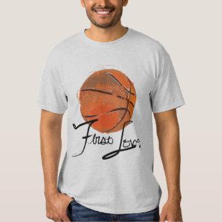 First Love: Basketball T-shirt
