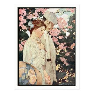 First Love by Jessie Willcox Smith Postcard